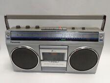 VINTAGE PANASONIC FM-AM-FM STEREO RADIO CASSETTE RECORDER MODEL RX4940