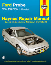 Repair Manual Haynes 36066 fits 89-92 Ford Probe