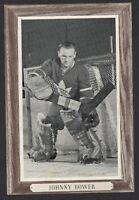 1964-67 Beehive Group III Toronto Maple Leafs Photos #154B Johnny Bower