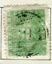 BRITISH GUIANA; 1860 early classic QV issue fine used 24c. value