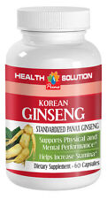 Aging Male Sex Booster - Korean Ginseng 350mg - Fresh Wild Ginseng Root 1B