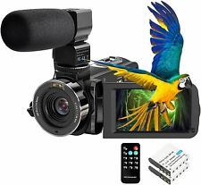 Video Camera Camcorder FHD 1080P 30FPS 26MP YouTube Vlogging Camera IR Night Vis