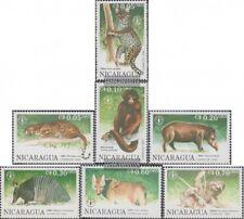Nicaragua 3030-3036 (complète edition) neuf avec gomme originale 1990 Animaux