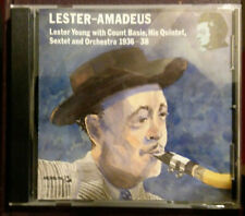 Lester-Amadeus: Lester Young with Count Basie Quintet Sextet & Orch 1936-38 - CD