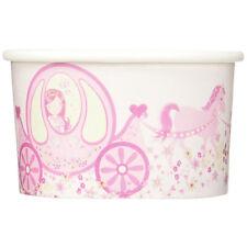 Eisbecher Princess Party, rosa - 8 Stück Partygeschirr Feier Mädchen Pappbecher