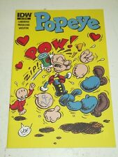 POPEYE #10 IDW COMICS VARIANT NM (9.4)