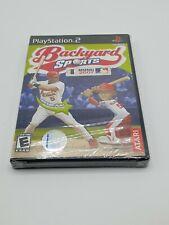 Backyard Sports Baseball 2007 PlayStation 2 Ps2 Game New Sealed NTSC