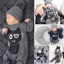 Baby Mädchen Jungen Kleinkind Overall Body Anzug Baby-strampler Romper Kleidung