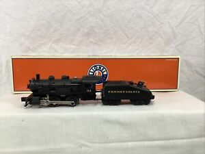Lionel 6-38605 Pennsylvania RR 0-4-0 Locomotive & Tender NEW IN BOX