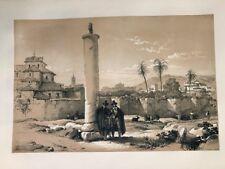 Cordoba. George Vivian, litografia original.Londres 1838