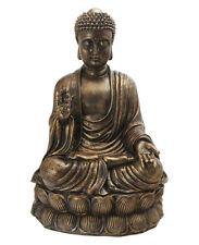 Sitting Shakyamuni Buddha Antique Bronze Finish Large Garden Statue Sculpture