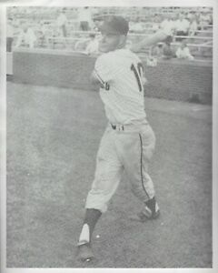 """1960 Don """"Blazer"""" Blasingame San Francisco Giants 8x10 B&W Photo Reds Cardinals"""
