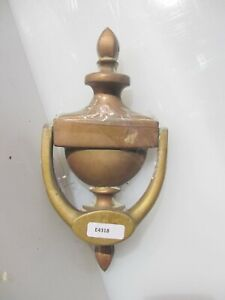 Vintage Brass Door Knocker Old Architectural Traditional