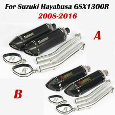 Motorcycle Decat Exhaust Mid Muffler Pipe For Suzuki GSX1300R HAYABUSA 2008-2018