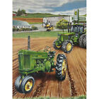 Diamond Painting DIY Round Drill 5D Green Farm Tractor Craft Art Hobby and DIY