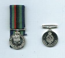 Miniature of the ROYAL ULSTER CONSTABULARY SERVICE MEDAL - EIIR
