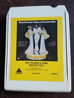 TONY ORLANDO & DAWN Greatest Hits 8 TRACK TAPE cartridge S 124018