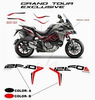 Kit adesivi Grand Tour Exclusive Design personalizzato - Ducati Multistrada 1260