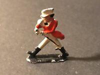 Vintage Mini Miniature Figurine Made In England Metal Enamel    -