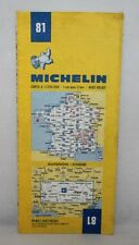 France - Michelin 1:200,000 Map - Avignon, Digne - Sheet 81 - 1982