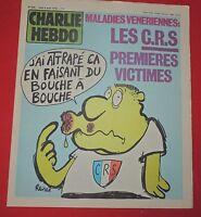 CHARLIE HEBDO n°456 - 1979 - Couverture REISER. Parfait état