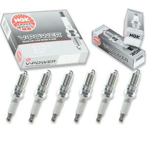 6 pcs NGK V-Power Spark Plugs for 2000-2005 Chevrolet Impala 3.8L  3.4L 3.8L td