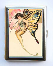 Fairy Butterfly Cigarette Case id case Wallet Business Card Holder