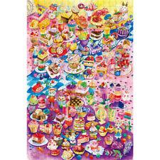 Wooden Jigsaw Puzzles 500 PCS My Little Cake Dessert Fruit Cartoon Toy Painting