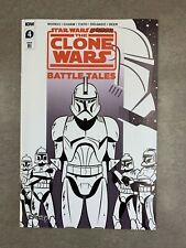Star Wars Adventures the Clone Wars Battle Tales #4 1:10 RI Retailer Incentive