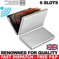 SLIM CARD BOX CASE WITH RFID-BLOCKER FOR DEBIT CREDIT CARDS RFID CLIP CASE CHIP