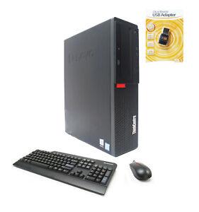 Lenovo M910s SFF PC 4-Core i7-7700 3.60/4.20GHz 16GB Ram 512GB SSD 1TB HDD WIFI