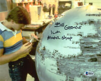 BILL GEORGE SIGNED 8x10 PHOTO ILM MODEL MAKER STAR WARS VERY RARE BECKETT BAS