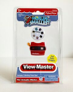 Cool Miniature Toy -  World's Smallest Fisher-Price View-Master - Pocket Size