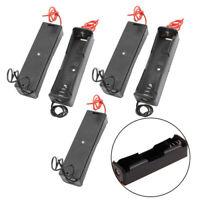 5tlg Batteriehalter für 3.7V 18650 Akku Batterie halter Batteriekasten mit Kabel