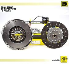 LuK REPSET PRO 3PC CLUTCH KIT FOR VAUXHALL ASTRA V ZAFIRA II 1.9 CDTI 624338333