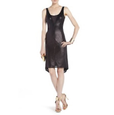 """BCBG New """"Fatale"""" Black Sequence Cocktail Party Dress NWT S RXS6T500"""