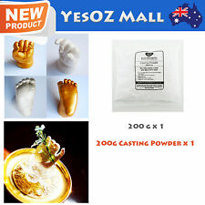 Refill Casting Powder 200g for 3D Baby Casting foot and and hand - 100% Safe