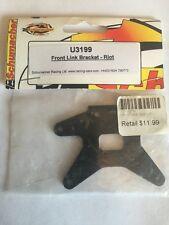 Schumacher Racing Front Link Bracket-Riot U3199 MEGA REDUCTION!
