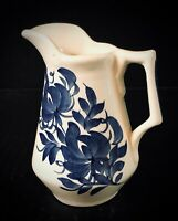 "Vntg Ceramic Pitcher Creamer 4-3/4"" Clinchfield Artware Hand Painted Erwin,TN"