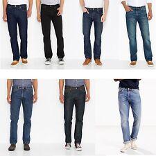 Levis ® 501 ® Denim Herren Jeans Hose blau schwarz black