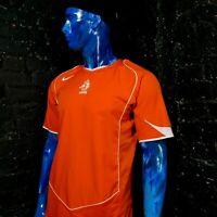 Netherlands Holland Jersey Home football shirt 2004 - 2005 Nike Mens Size M