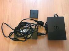 Dell K17A Docking Station & Dell FA180PM111 Power Adapter & Dell DA100 Display