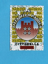 PANINI CALCIATORI 2001/02- Figurina n.464- SCUDETTO/BADGE - CITTADELLA -NEW