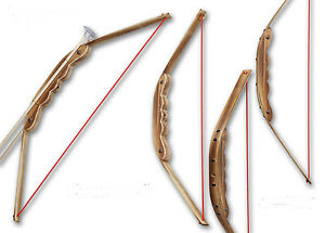 Wooden Bow with Arrows and Holder Children Kids Archery For Hunting Toy Fun Game