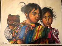 ORIGINAL NATIVE GUATEMALAN FINE ART