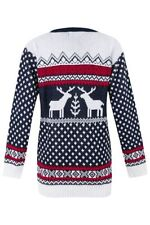 Reindeer Long Jumpers & Cardigans for Women