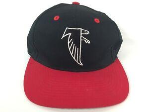 Atlanta Falcons Logo 7 Snapback Cap Hat NFL Football Team Vintage Logo Black Red