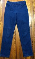 Croft & Barrow Jeans Womens Small Average Medium Wash Jeggings Pull On 30in. W