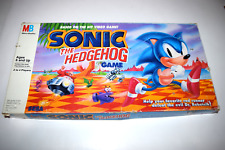 Sonic the Hedgehog Board Game 1992 Milton Bradley in Box