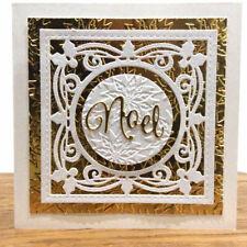 Christmas Noel Metal Cutting Dies Stencil Scrapbook Embossing Album Gift Crafts